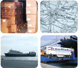 efficient transportation of imported goods